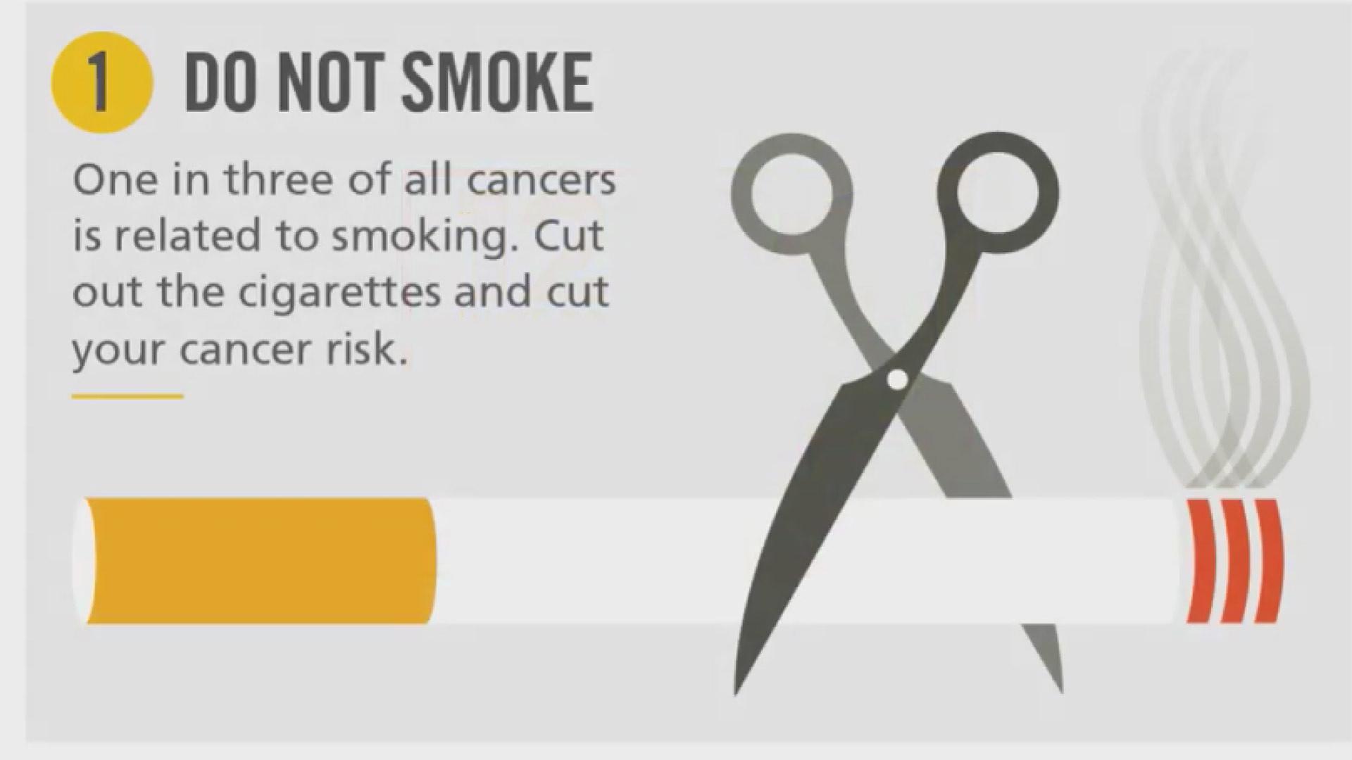 12 روش برای کاهش خطر ابتلا به سرطان